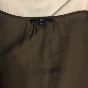 GAP Tops - GAP silk grey top